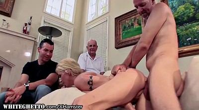 Granny anal, Husband watches