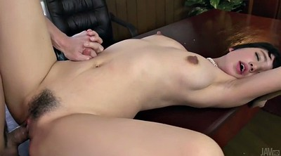 Japanese girl, Japanese office, Sakura, Hairy creampie