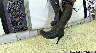 Mature, Leather