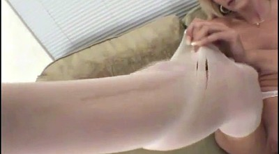 Blacked, Pussy open, Ebony pantyhose, Black stocking