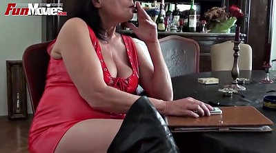 Movie, Granny masturbation, Mature tits