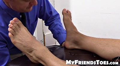 French, Masturbation, Lick feet, Clothed