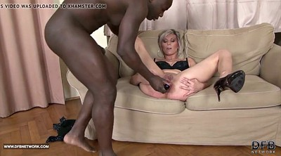 Interracial, Ebony mature, White bbc