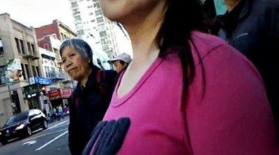 Chinese, Chinese granny, Bus, Chinese voyeur, Asian granny, Chinese milf