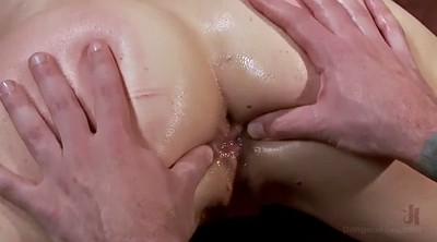 Caning, Ass gaping, Gape, Slave anal, Master