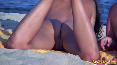 Nudist, Nudists, Close pussy, Public beach