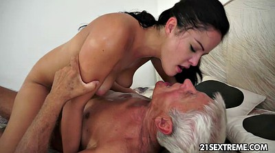 Old cock, Kissing granny