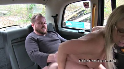Fat guy, Fake, Female taxi, Female fake taxi
