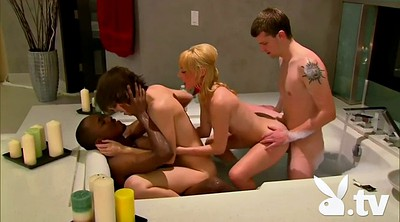 Orgy, Swingers, Two couple, Bathtub, Two couples