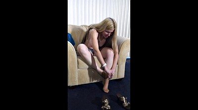 Mature pantyhose, Hairy mature masturbation