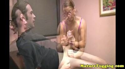 Students, Office gay, Mature handjob