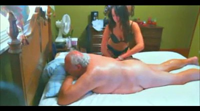 Old man, Granny, Granny and young, Granny massage