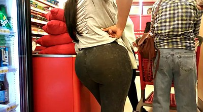 Jeans, Latina big ass, Jeans ass