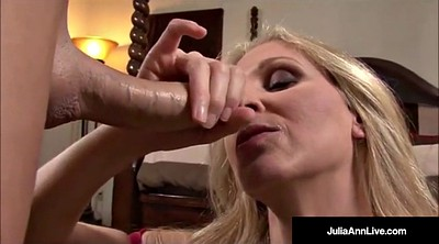 Julia ann, Julia, Dirty talk, Mega tits, Dirty talking, Big cock cumshot