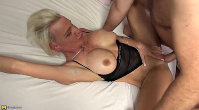 Granny fuck, Young busty, Wake