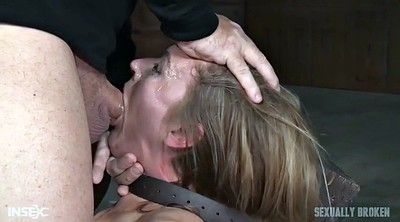 Ebony, Brutal, Face fucking, Blindfolded, Mona, Deep toy
