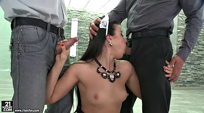 Deepthroat, Russian throat, Teen maid, Taissia shanti