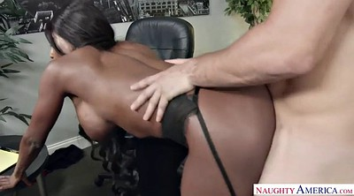 Feet, Ebony, Office foot, Licking, Feet femdom, Femdom cumshot