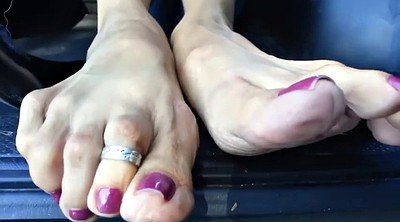 Mature feet, Mature foot, Sole, Footing