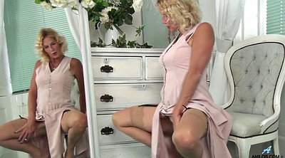 Stockings, Granny masturbation