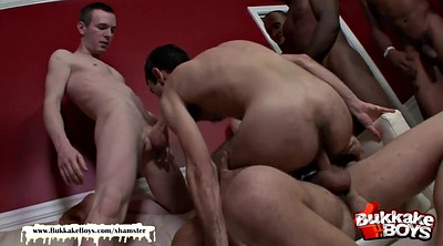 Hairy, First anal, Interracial gangbang