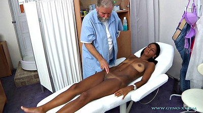 Granny anal, Gyno, Exam, Anal granny, Doctor anal