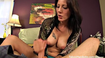 Hot stepmom, Handjob mature