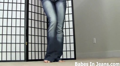 Femdom, Jeans, Tight jeans