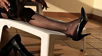 Foot, Nylon foot, Black foot