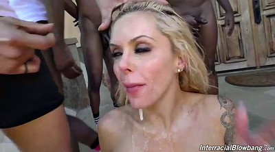 Big black cock, Nina elle