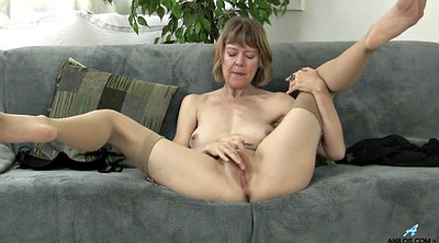 British milf, Masturbation mom