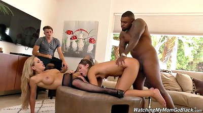 Mandingo, Swallow, Pantyhose fuck, Missionary anal