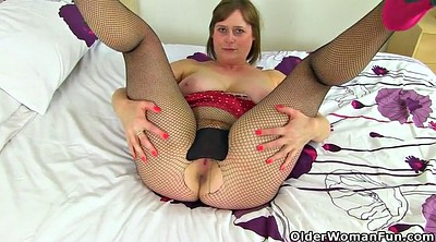 April, Mature pantyhose