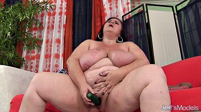 Bbw, Cucumber, Bbw mom, Bbw huge tits, Bbw huge boobs, Mom sex