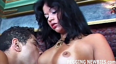 Pegging, Sissy, Strapon pegging