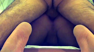 Couple, Hairy gay, Anal gay, Riding anal, Gay hairy