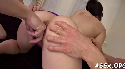 Japanese anal, Asian anal, Blowbang