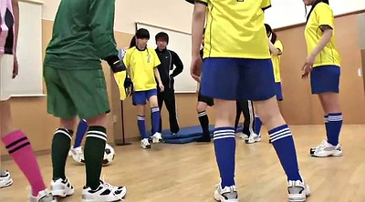 Train, Japanese young, Old teen, Old japanese, Football
