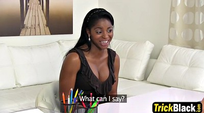 Office, Interview, Barely, Tit job, Job interview, Ebony woman