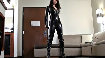 Boots, Knee, Catsuit