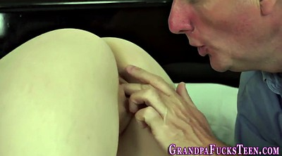Teen old, Granny blowjob