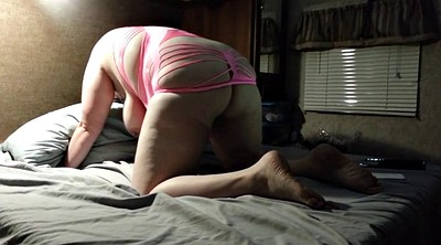 Bbw creampie, Fuck from behind, Creampie wife, Angle
