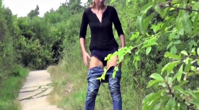 Fetish, Outdoor teens, Outdoor pee