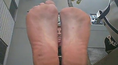 Foot worship, Sole, Worship foot