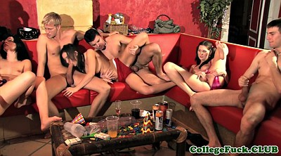 College orgy, Amateur student