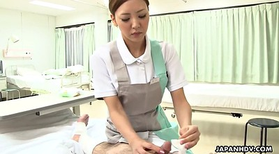 Nurse, Japanese handjob, Japanese doctor, Surprise, Japanese nurse, Uniform