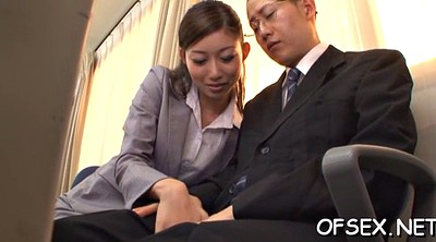 Office, Asian office, Real sex