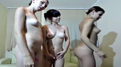 Foursome, Vibrator, Masturbating together, Lesbian webcam, Lesbian group, Masturbate together