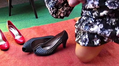 Gay feet, Crossdresser, Shoes