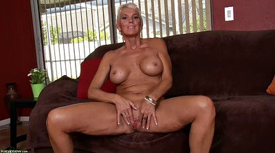 Mature solo, Short hair, Mature solo dildo, Inside pussy